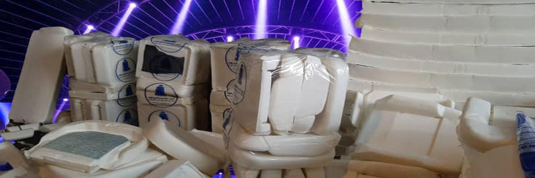 تولید فوم صندلی